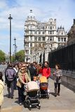 London turister Royaltyfri Bild