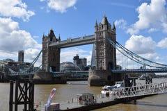 London-Turm Brücke Stockfotografie
