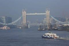 London-Turm Brücke Stockbild