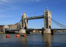 London. Turmbrücke stockfoto
