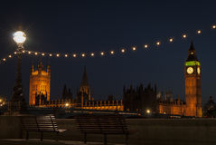 London at twilight Royalty Free Stock Image