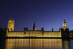 London at twilight Royalty Free Stock Images