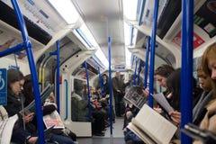London-U-Bahn stockfotografie