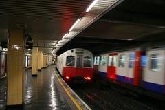 London-U-Bahnhof Stockfotografie