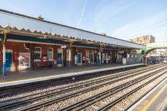 London-U-Bahnhof in Süd-Westwood lizenzfreies stockbild