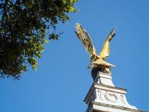 LONDON/UK - 15 ΑΥΓΟΎΣΤΟΥ: Άποψη του RAF μνημείου στο Λονδίνο στο Au Στοκ Εικόνα
