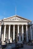 LONDON/UK - 7 ΜΑΡΤΊΟΥ: Άποψη της βασιλικής ανταλλαγής στο Λονδίνο στο μΑ στοκ φωτογραφία με δικαίωμα ελεύθερης χρήσης