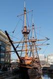 LONDON/UK - 13 ΦΕΒΡΟΥΑΡΊΟΥ: Άποψη χρυσού του οπίσθιου στο Λονδίνο ο Στοκ φωτογραφία με δικαίωμα ελεύθερης χρήσης