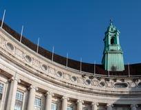 LONDON/UK - 13 ΦΕΒΡΟΥΑΡΊΟΥ: Παλαιά αίθουσα κομητειών που στηρίζεται στο Southb Στοκ Εικόνα