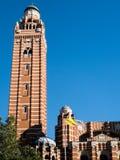 LONDON/UK - 15-ОЕ АВГУСТА: Взгляд башни на Вестминстере Cathedr Стоковая Фотография