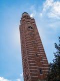LONDON/UK - 15-ОЕ АВГУСТА: Взгляд башни собора Вестминстера в l Стоковые Фотографии RF