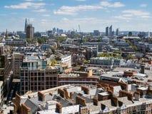 LONDON/UK - 15-ОЕ АВГУСТА: Взгляд от собора Вестминстера в Londo Стоковые Фото