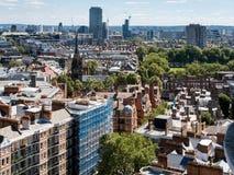 LONDON/UK - 15-ОЕ АВГУСТА: Взгляд от собора Вестминстера в Londo Стоковые Фотографии RF