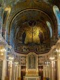 LONDON/UK - 15-ОЕ АВГУСТА: Внутренний взгляд собора i Вестминстера Стоковые Изображения