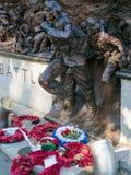 LONDON/UK - 15-ОЕ АВГУСТА: Конец-вверх части сражения Britai Стоковые Изображения RF