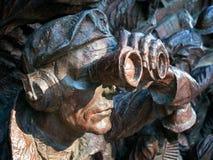 LONDON/UK - 15-ОЕ АВГУСТА: Конец-вверх части сражения Britai Стоковая Фотография RF