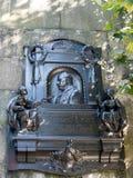LONDON/UK - 15-ОЕ АВГУСТА: Мемориал к w s Гилберту на Embankmen Стоковые Изображения