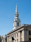 LONDON/UK - 15-ОЕ АВГУСТА: Церковь Trafalgar Мартин-в--полей St Стоковая Фотография RF