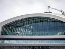 LONDON/UK - 12-ОЕ СЕНТЯБРЯ: Люди наслаждаясь садом неба в Lon Стоковые Фото