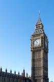 LONDON/UK - 18-ОЕ ФЕВРАЛЯ: Взгляд большого Бен в Лондоне на февраля Стоковое Изображение RF