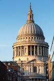 LONDON/UK - 18-ОЕ ФЕВРАЛЯ: Собор St Paul в Лондоне на Febru Стоковое фото RF