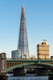 LONDON/UK - 18-ОЕ ФЕВРАЛЯ: Черепок в Лондоне 18-ого,20 февраля Стоковая Фотография