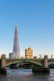 LONDON/UK - 18-ОЕ ФЕВРАЛЯ: Черепок в Лондоне 18-ого,20 февраля Стоковое Изображение RF
