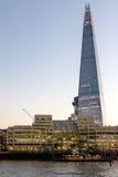 LONDON/UK - 18-ОЕ ФЕВРАЛЯ: Черепок в Лондоне 18-ого,20 февраля Стоковое Фото