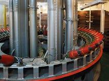 LONDON/UK - 9月12日:充分军械库在HMS贝尔法斯特的壳 库存图片