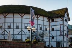 LONDON/UK - 2月13日:地球剧院的看法在伦敦 免版税库存图片