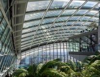 LONDON/UK - 6月15日:天空庭院的看法在6月1日的伦敦 免版税库存照片