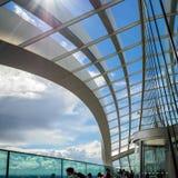 LONDON/UK - 6月15日:天空庭院的看法在6月1日的伦敦 图库摄影