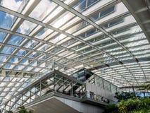 LONDON/UK - 6月15日:天空庭院的看法在6月1日的伦敦 免版税库存图片