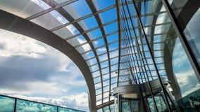 LONDON/UK - 6月15日:天空庭院的看法在6月1日的伦敦 库存照片