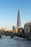 LONDON/UK - 2月18日:碎片在20的2月18日,伦敦 免版税库存图片