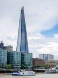 LONDON/UK - 6月15日:碎片大厦的看法在莒的伦敦 库存图片