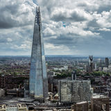 LONDON/UK - 6月15日:碎片大厦的看法在莒的伦敦 库存照片