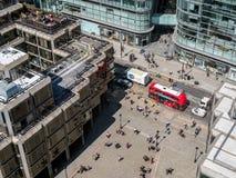 LONDON/UK - 8月15日:从威斯敏斯特大教堂的看法在Londo 免版税库存照片