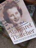 Vördnad till Margaret Thatcher Arkivfoto