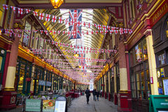 LONDON, UK - APRIL 24, 2014: City of London, market Stock Photo