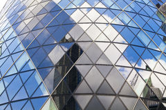 LONDON, UK - APRIL 24, 2014: Gherkin building Royalty Free Stock Photography