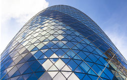 LONDON, UK - APRIL 24, 2014: Gherkin building Stock Images