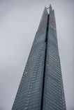 LONDON UK - APRIL 9, 2013: London affärstorn royaltyfri bild
