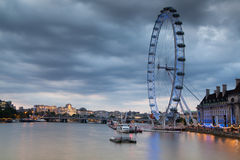 LONDON, UK - APRIL 5, 2014:  London eye Royalty Free Stock Image