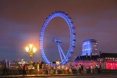 LONDON, UK - APRIL 5, 2014:  London eye Royalty Free Stock Photography