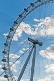 LONDON, UK - April 2016 The London Eye.  The entire structure of Stock Photo