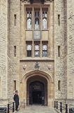 Waterloo Block building, venue for the Crown Jewels Exhibition in Tower of London, historic castle and popular tourist attraction stock photo