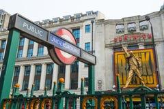 LONDON, UK - APRIL 07: We Will Rock You musical in Tottenham Cou Stock Image