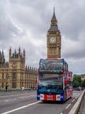 Sightseeing bus, London royalty free stock photos