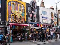 Free LONDON, UK - AUGUST, 31 2018: Street Life In Camden Town, A Fam Royalty Free Stock Photo - 125860035